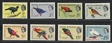 BRITISH HONDURAS 1962 Very Fine MH Stamps Set Scott # 167-74 CV 23.50 $  BIRDS