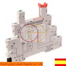 RELE: RELAY RELEVADOR RAIL DIN BORNAS Farnell Finder Omron Arduino SVB10D010024V