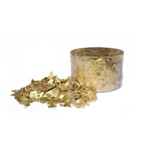 Crystal Candy Edible Flakes Inca Gold, 7 Grams