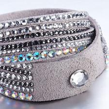 Crystal Closure Cuff Rhinestone Slake Deluxe Nude Bracelet Swarovski Element