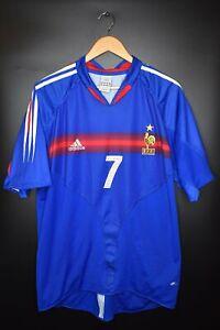 FRANCE ROBERT PIRES 2004 EURO CUP ORIGINAL JERSEY Size XL (VERY GOOD)
