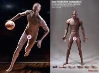 Phicen 1/6 Seamless Male Black Body Model Action Figure Toy TBLeague PL2018-M36