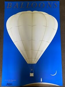 Original Vintage Balloons Razzia Poster