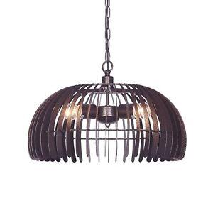 "17"" Modern Industrial Pendant Light Fixture 1-Bulb Dome Bronze Ceiling Lighting"