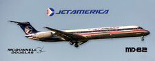 Jet America MD-82 Handmade Photo Magnet (PMT1649)