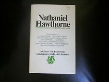NATHANIEL HAWTHORNE A COLLECTION OF CRITICISM 1975 PB VGC