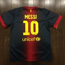 Lionel Messi #10 FC Barcelona Jersey Youth Size 24