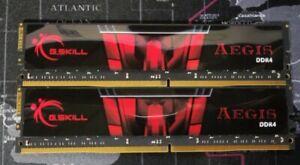 G.Skill Aegis 16GB DDR4  2400MHz F4-2400C17D-16GIS  (2x8GB)