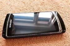 Samsung i8910 Omnia HD l 8GB Schwarz 4 Zoll l WIE NEU l Symbian HSDPA GPS