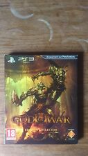 GOD OF WAR III édition collector  complet fr SONY PS3