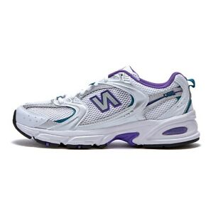 [New Balance] 530 Shoes Sneakers - White/Purple(MR530FN1)