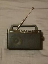 🔶️SONY ICF306 AM/FM PORTABLE RADIO BLACK