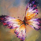 "20*20"" Abstract Art Canvas Oil Painting Butterfly Hand-painted /NO Frame"