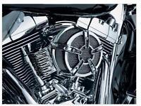 Kuryakyn Mach 2 Air Cleaner Co-Ax Chrome for Harley Twin Cam exc.08-14 FLH 99-15