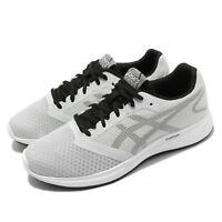 Asics Patriot 10 Grey Black Men Running Training Shoes Sneakers 1011A131-023