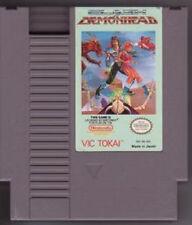 CLASH AT DEMONHEAD ORIGINAL NINTENDO GAME CLASSIC SYSTEM NES HQ