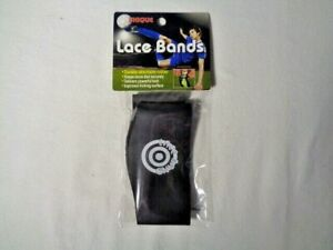 Unique Sports Lace Bands Cleat Lace Covers Black