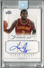 2012-13 Panini Flawless Kyrie Irving Auto #6/25 Autograph Encased Memorable Mark