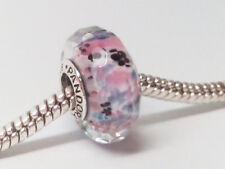 New Authentic Pandora Shoreline Sea Glass Facet Murano Charm Bead 791608