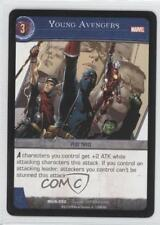 2008 VS System Marvel Universe Booster Pack Base MUN-050 Young Avengers Card 3v2