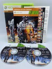 Battlefield 3 Premium Edition (Microsoft Xbox 360, 2012) Complete CIB Game