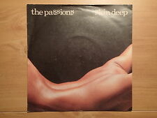 "The Passions-Skin Deep/I Radiate-UK 7""-PS-1981-Polydor Records POSP 256-NEW"