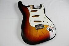 MJT Official Custom Vintage Age Nitro Guitar Body By Mark Jenny VTS Burst 1Piece