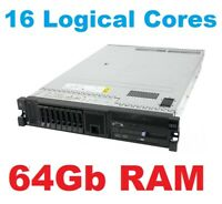 IBM x3650 M3 Server-2x Quad Core Xeon X5550 2.66Ghz -64GB-2x300GB 10K SAS