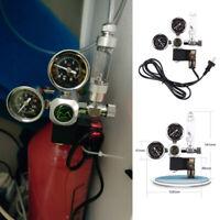 Aquarium CO2 Regulator Check Valve Bubble Counter Magnetic Solenoid