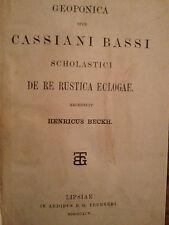 Geoponica Cassiani Bassi De re rustica eclogae Beckh Teubner 1895 ( 3441 ) 24