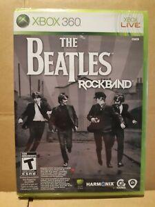 BRAND NEW SEALED - THE BEATLES : ROCKBAND - XBOX 360