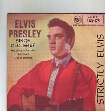ELVIS PRESLEY STRICTLY ELVIS 1959 ROUND CENTER EP RARE IN ORIGINAL SLEEVE