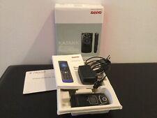 Sanyo Katana Black Flip Phone, Pls-6600