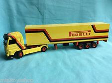 Tekno  Pirelli Scania 143M / 470 - 2 axle Tractor with 3 axle semi-trailer Truck