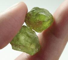 28.3Ct Natural Peridot Facet Specimen Rough WYGLb7157