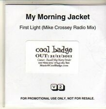 (CQ619) My Morning Jacket, First Light - 2011 DJ CD
