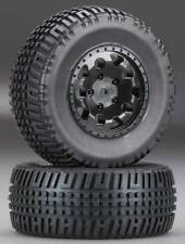 Team Associated 91104 KMC Hex Wheels/Tires Black (2) SC10 SC10GT ProLite SC10.2