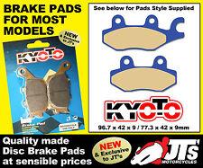 REPLICA FRONT DISC BRAKE PADS HONDA XL125 V1 V2 V3 V4 V5 V6 V7-VA Varadero 01-11