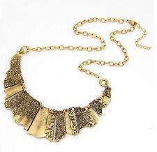 Collana Collier Collana Medioevale Chocker Gotico Collare nero color oro antico