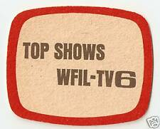 12 Top Shows WFIL-TV6 Drink Coasters  Philadelphia