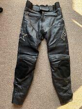 "RST Genuine Cowhide Leather Motorbike Bike Biker Men's Size 32"" UK"