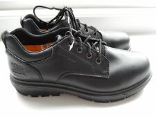 Men's CAT Caterpillar Oversee work safety shoe steel toe size 8 NEW leather
