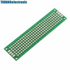 Double Side Prototype PCB Tinned Universal Breadboard 2x8 cm 20mmx80mm FR4 b49