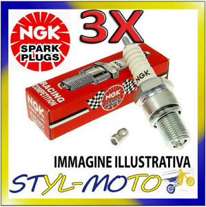 KIT 3 CANDELE NGK SPARK PLUG D7EA BMW K 75 RT 750 1996