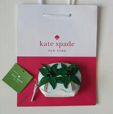 KATE SPADE BREATH OF FRESH AIR PALM TREE COIN PURSE W/ POUCH PWRU5041 NWT $78