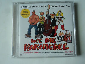 CD - WIE DIE KARNICKEL - ORIGINAL SOUNDTRACK - EARTHA KITT, SURF u.a.. - NEU