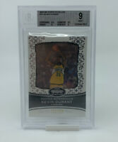 2007-08 TOPPS ECHELON #74 KEVIN DURANT RC ROOKIE CARD /999 BGS 9 MINT! LOW POP!