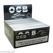 OCB SLIM Premium - Lot de 50 Carnets de 32 Feuilles