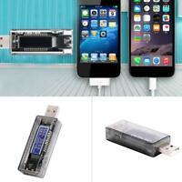 1Pcs Power Meter Ammeter Voltmeter USB Current Voltage Charger Capacity Z2N9
