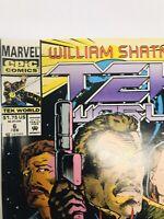 Vintage 1992 - William Shatner Tek World Moon Kill - Marvel Comics